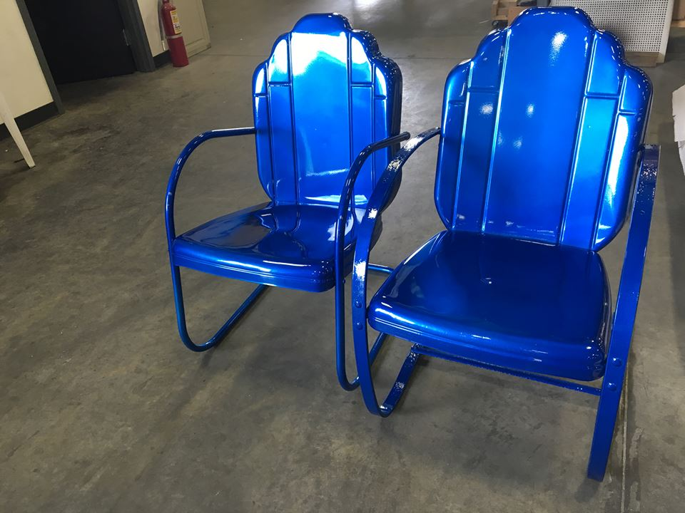 patio furniture powder coating hanover powder coating